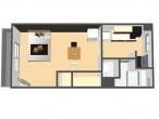 二条住宅 二号棟 226号室 鳥瞰図