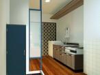 二条住宅226号室パース2