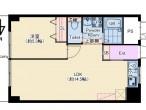 北野マンション 617号室 仲介図面