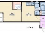 ラ・レジダンス・リル203号室 仲介図面