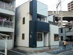 大阪 阿倍野区 新築 戸建賃貸 外観