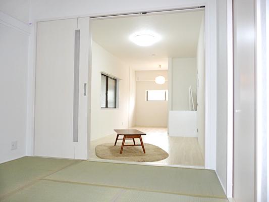 神戸 尼崎 戸建 リノベーション 和室